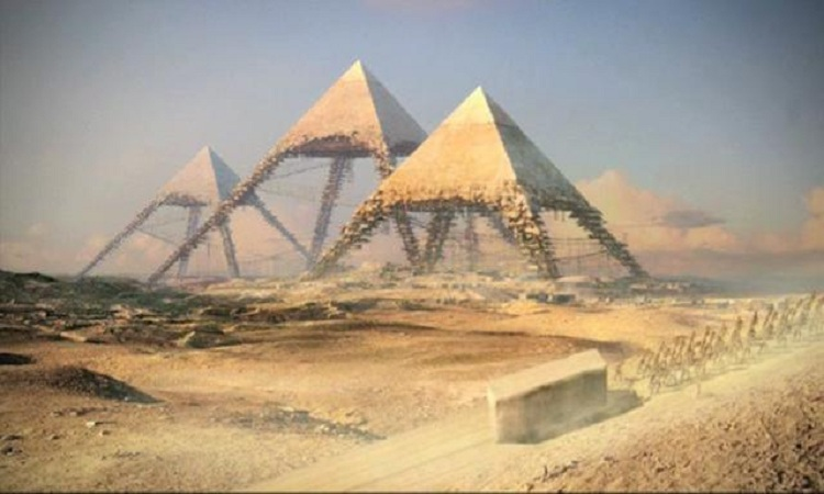 how the three pyramids at giza were built And though the two kings [ie khufu and khafre] built the pyramids to serve as their tombs, in the event neither of them was buried in them for the multitudes, because of the hardships which they had endured in the building of them and the many cruel and violent acts of these kings, were filled with anger against those who had caused their.