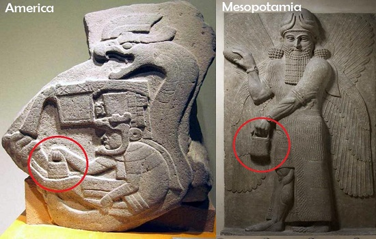The mystery handbag of the Gods: Depicted in Sumer, America, and Göbekli  Tepe Bizsiziz