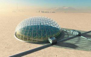 Cam Kubbeler, Mars'a Giden İlk İnsanların Yaşam Yeri Olacak