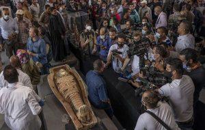 Egypt unveils ancient