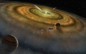 Solar system formed