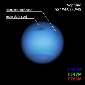 Neptune's Weird Dark