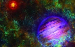 A pair of lonely planet-like objects born like stars