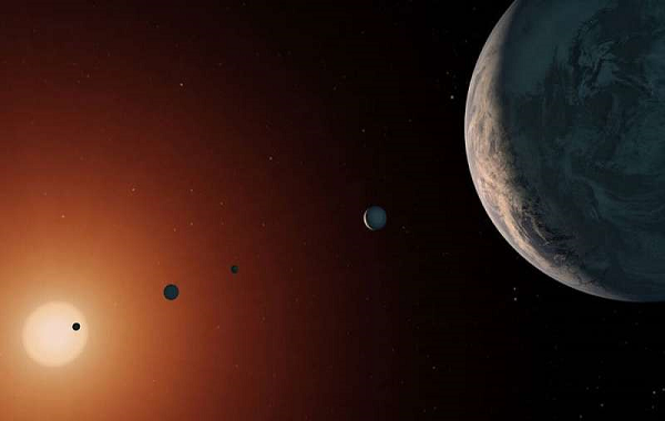 It is rare to have eight planets, but the study shows that the solar system follows basic rules