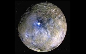 Cüce Gezegen Ceres Yörüngesinde Bir Mega Uydu, İnsan Kolonileşmesi İçin Daha Uygun Olabilir