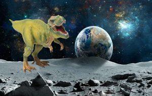 Ayın Yüzeyinde Muhtemelen Dinozor Kalıntıları Olduğu Duyuruldu