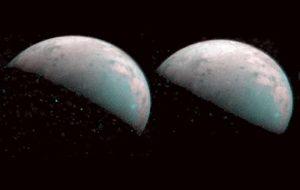 Juno maps water ice