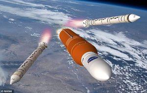 Aya İlk Kadın Astronotu Götürecek 'Şimdiye Kadar Yapılmış En Güçlü Roket' Motorları Ocak Sonunda Ateşlenmeye Hazırlanıyor.