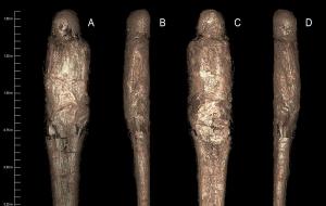 """İlk Defa Kayıtlara Geçen """"Çamur Kaplı Mumya"""" Arkeologları Şaşırttı"""