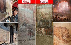 Pompeiinin 2000 Yıllık Freskinde Antik Mısır'la Bağlantılı Çarpıcı Görüntüler Ortaya Çıktı