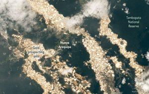 Uzaydan Alınan Görüntüler Dünya'nın Altın Irmaklarını Ortaya Çıkardı