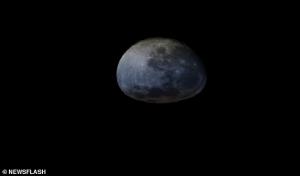 Uzaydan Bakınca Ayda Gün Batımı Trabzon Ekmeğine Benziyor