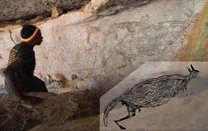 Avustralyada Bir Mağarada