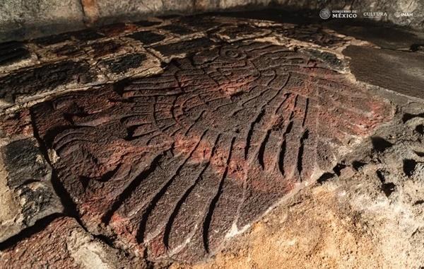 Meksikadaki Aztek Tapınağında