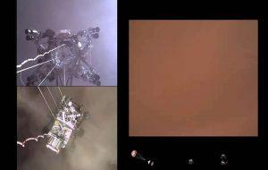 NASA Perseveranceın Marsa İniş Görüntülerini