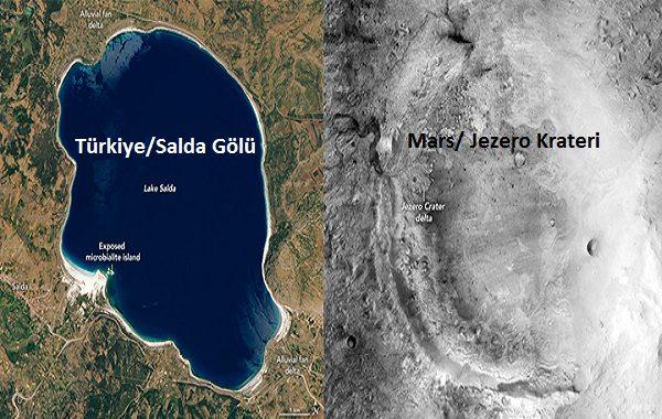 NASA: Türkiyedeki Bir Göl Bize Mars'ı Anlatabilir. Perseverance(Azim) Mars'ta Salda Gölünün Benzerini Arayacak