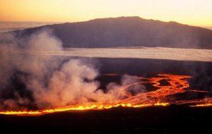 Dünyanın en büyük yanardağı