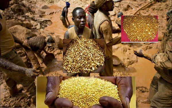 İzdiham Videosu: Kongolu Köylüler Toprağın %90'ı Altınla Dolu Bir Dağ Keşfetti