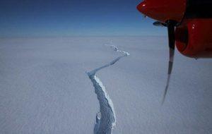 Iceberg larger than New York City breaks off in Antarctica