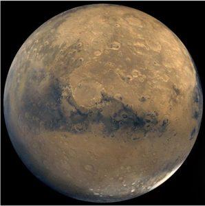 Mars Yüzeyinin Altında