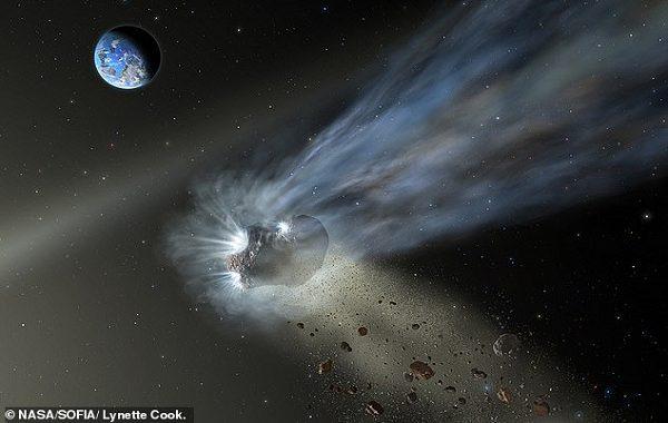 Dünyadaki Yaşamı Zaman Kapsülü Catalina Gibi Bir Kuyruklu Yıldız Başlatmış Olabilir