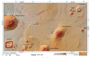 Kızıl Gezegenin Artık Bir Atlası Var