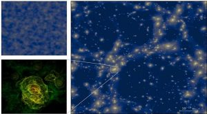 Astrophysicists simulate microscopic