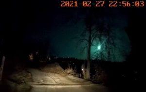 TÜBİTAK Türkiyede Görülen Meteorla