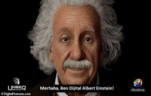 Yapay Zeka Einstein, Hayranlarıyla Konuşuyor ve Teorilerine Dair Soruları Yanıtlıyor