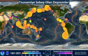 Son 120 Yılda Gerçekleşen Tüm Depremleri ve Tsunamileri Gösteren Video