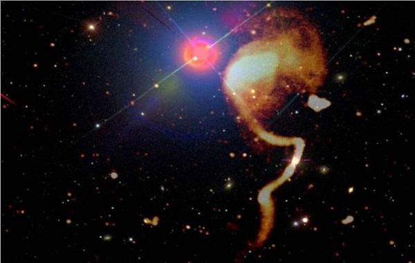Radio telescope reveals