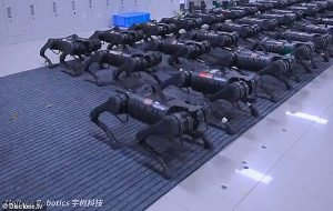 Çinin Bir Ordu Gibi Aynı Anda Hareket Eden Robotları İnsanlık Adına mı İnsanlığa Karşı mı Çalışacak?