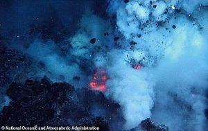 Su Altı Yanardağ Patlamaları Tüm Kıtaya Güç Vermeye Yetecek Enerji Üretiyor