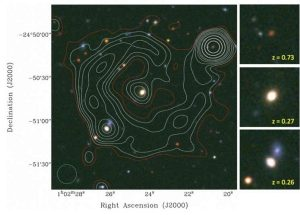 Astronomers discover a new extragalactic