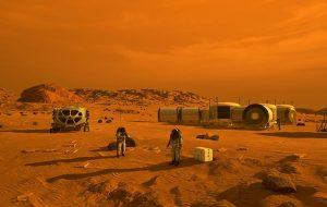 Marstaki Gizemli Yer Şekilleri