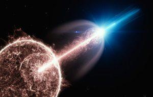 Ölüm Yıldızı! Evrenin En Büyük Patlaması Kameralara Yakalandı