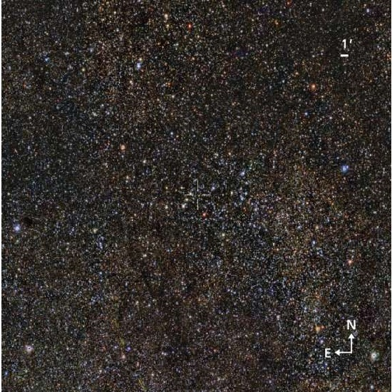 Astronomers discover a massive