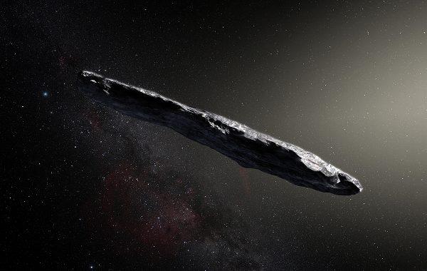 İlk Yıldızlar Arası Ziyaretçimiz Oumuamua 35 Milyon Yıllık Hidrojen Buzdağı Olabilir