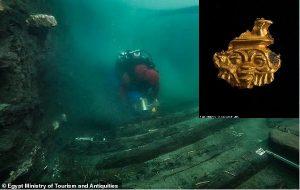 Akdenizde Amun Tapınağının Yıkılmasıyla Batan 2200 Yıllık Gemi Enkazı Keşfedildi