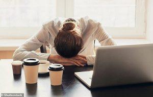 Art Arda Üç Gece Kötü Uyku Geçirmek Zihinsel ve Fiziksel Bozulmaya Neden Oluyor