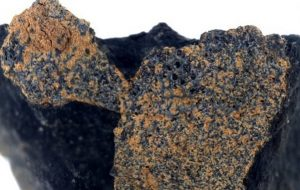Ancient meteorite dating back 4.6 billion years is discovered in the imprint of a horseshoe