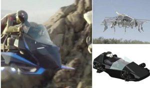 482 Km Hızla Gidebilen Jet Türbinli Uçan Motosiklet İlk Uçuş Testini Tamamladı