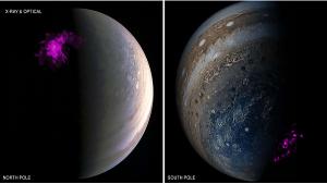 Jüpiterin Muhteşem X-ışını Auroralarının Arkasındaki Gizem Çözüldü