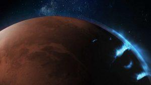 Arap Emirliklerinin Hope Uzay Aracı Daha Önce Görülmemiş Mars Işıklarını Yakaladı