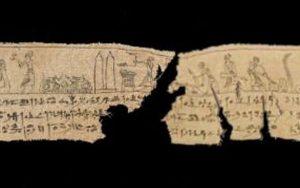 Antik Bir Mısır Mumyasına Ait Sargı Parçası 2.300 Yıllık Yapbozu Tamamladı