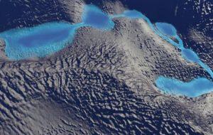 NASA Antarktika Buzullarının