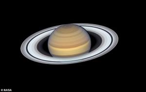 Pazartesi Gecesi Dünyaya En Yakın Noktaya Gelecek Halkalı Gezegen Satürn'ü Göreceğiz