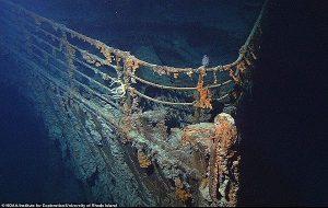 Okyanusun 4 Km Derinliğindeki Titanik Enkazına Yapılan Keşiften Yeni Görüntüler