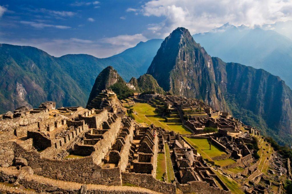 Machu Picchunun Bilinenden