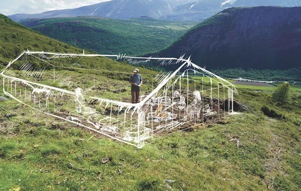 Eriyen Buzullar Norveçteki Viking